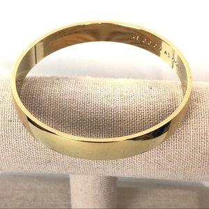 Kate Spade As Good As Gold Bangle Bracelet